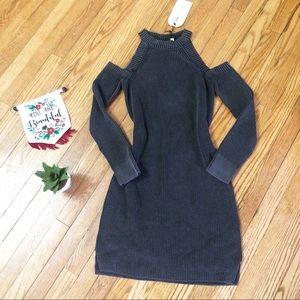 Rag & Bone Cold Shoulder Knit Dress